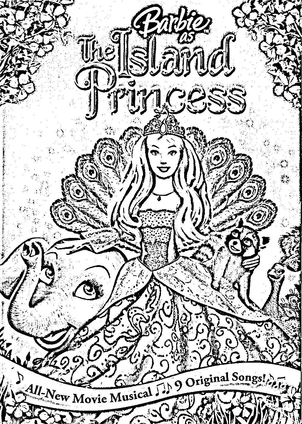 Barbie as The Island Princess Pages Coloring 12