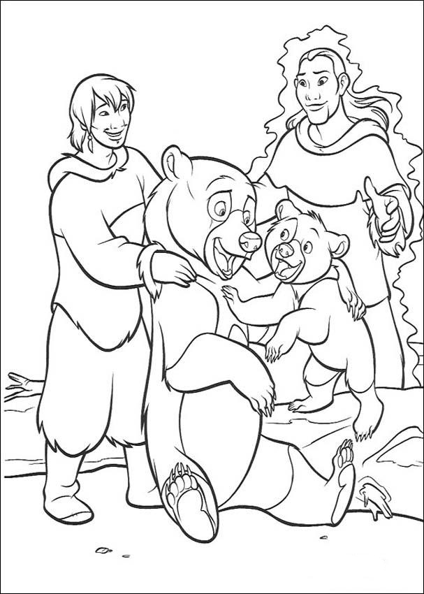Brother Bear Pages Coloring 11