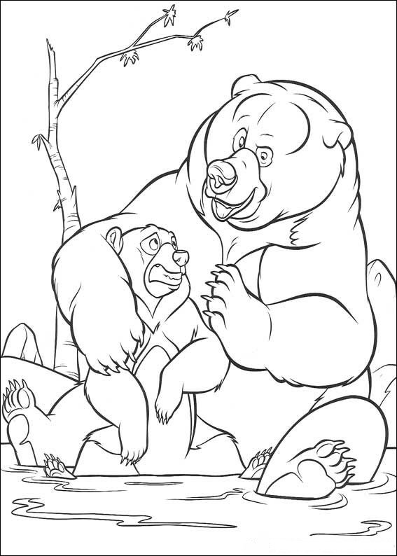 Brother Bear Pages Coloring 5