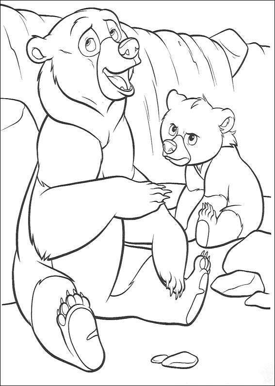 Brother Bear Pages Coloring 7