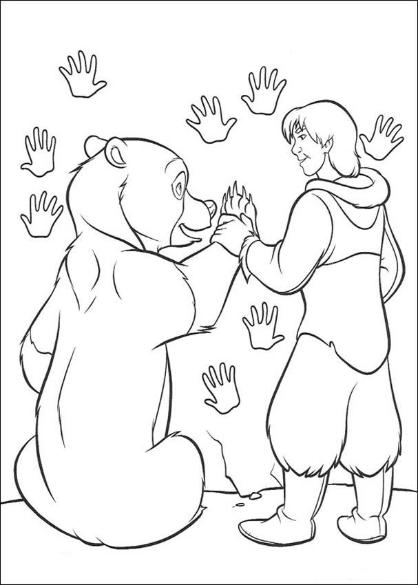 Brother Bear Pages Coloring 8