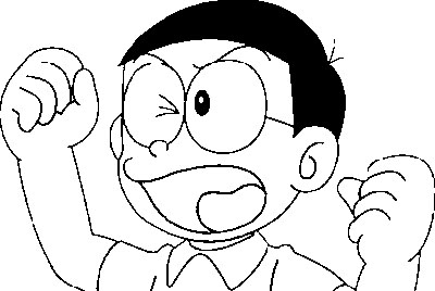 Doraemon Pages Coloring 1