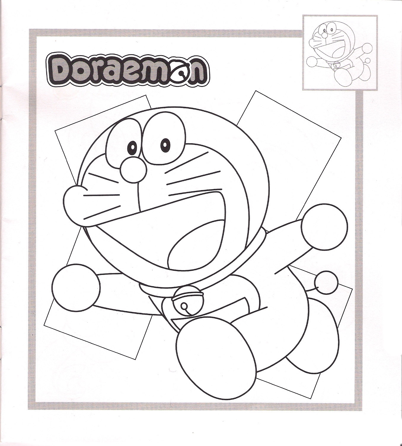 Doraemon Pages Coloring 12