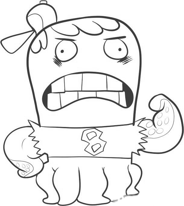 Fish Hooks Pages Coloring 10
