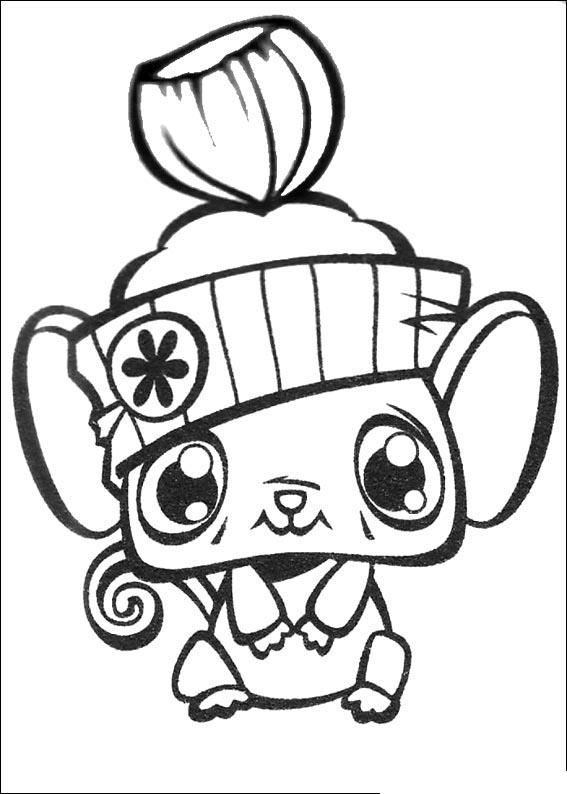 Littlest Pet Shop Pages Coloring 12