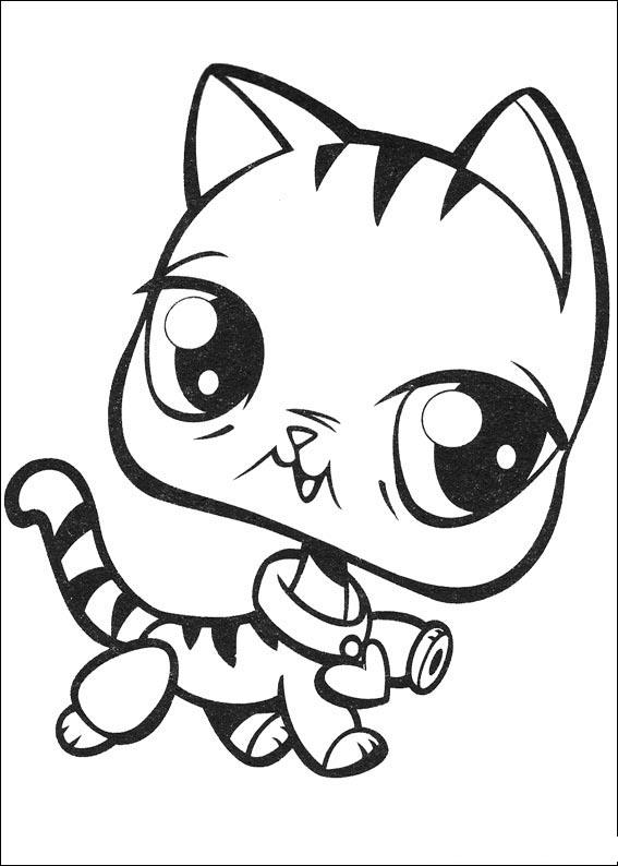 Littlest Pet Shop Pages Coloring 3