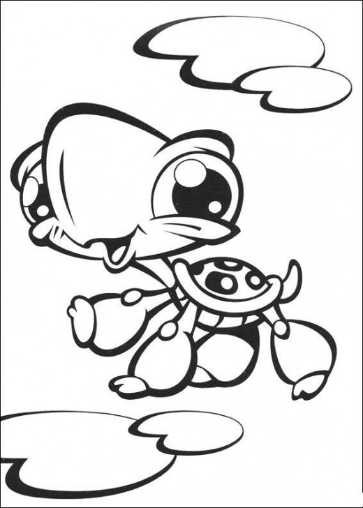 Littlest Pet Shop Pages Coloring 7