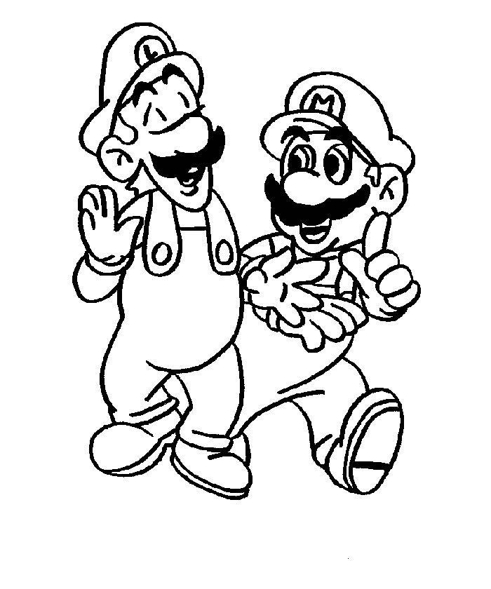 Mario Pages Coloring 11