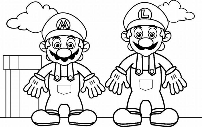 Mario Pages Coloring 3