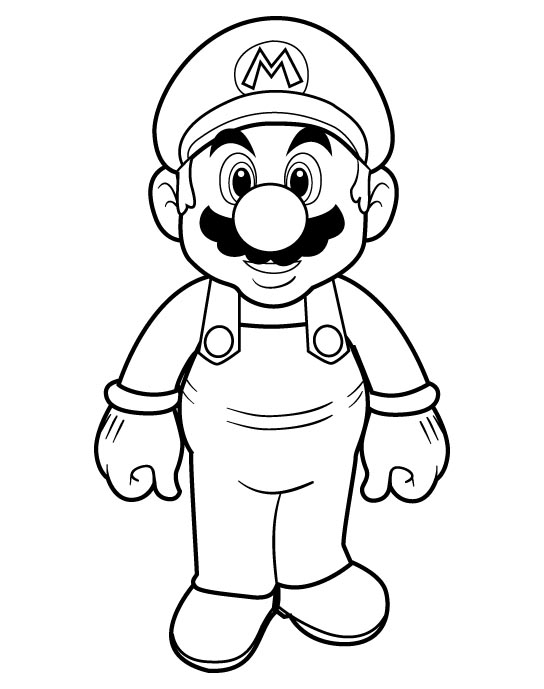 Mario Pages Coloring 7