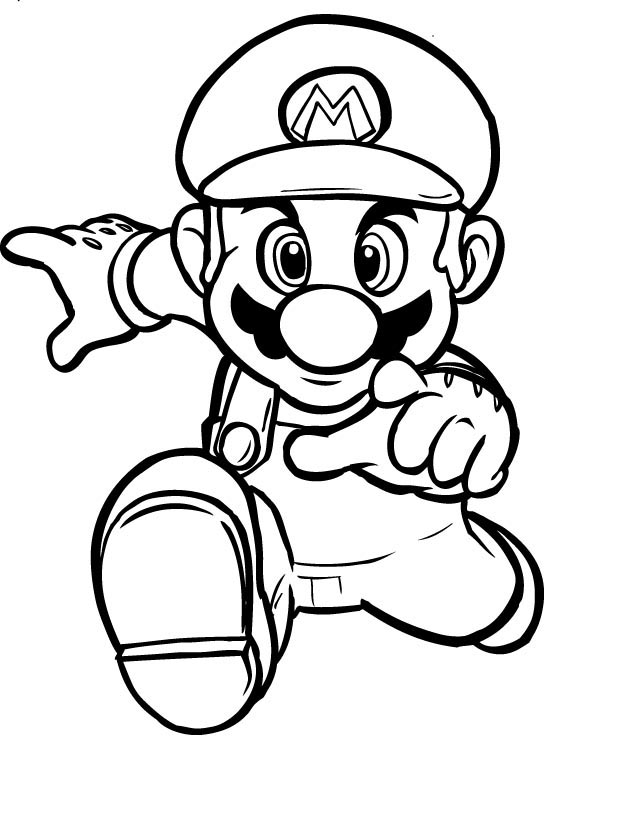 Mario Pages Coloring 8