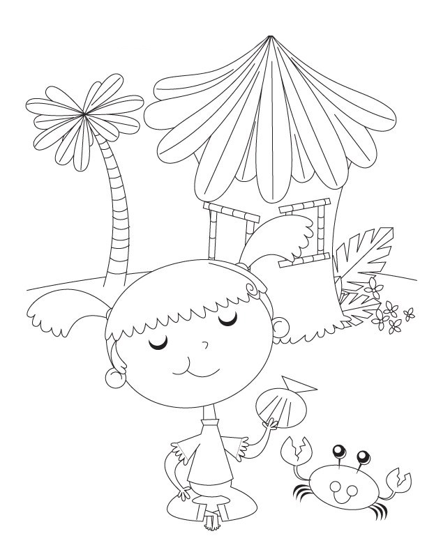 Preschool Pages Coloring 7