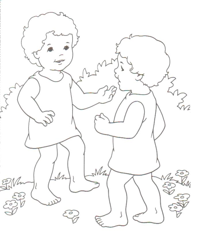 Preschool Pages Coloring 8