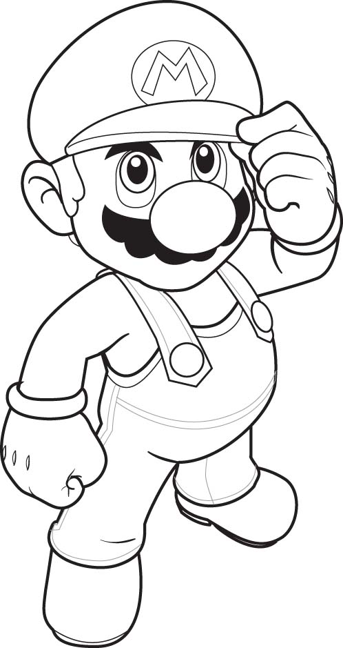 Super Mario Pages Coloring 3