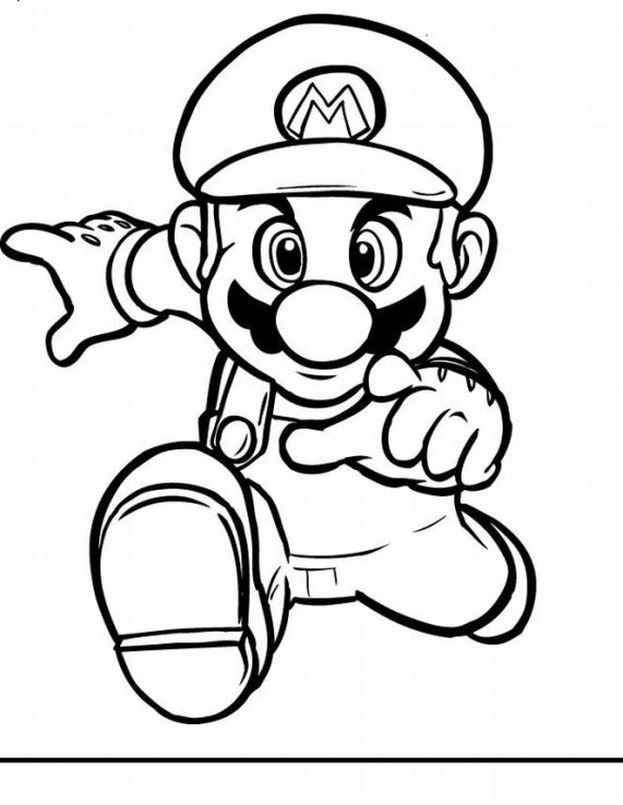Super Mario Pages Coloring 5