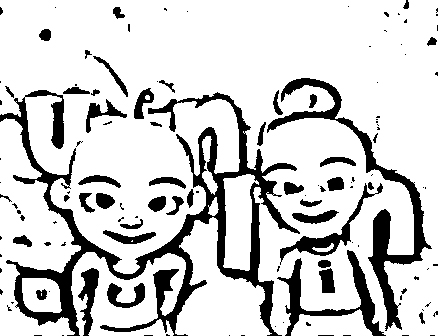 Upin Ipin Pages Coloring 5