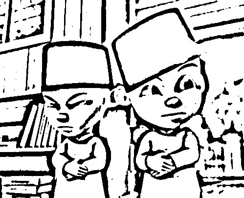 Upin Ipin Pages Coloring 6