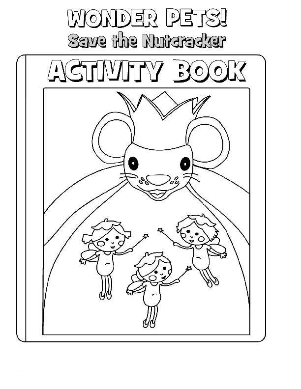 Wonder Pets Pages Coloring 2