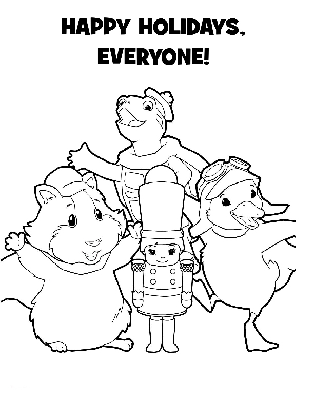 Wonder Pets Pages Coloring 6